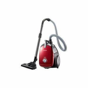 Aspirateur 1300W Sans Sac Samsung VCDC13BV - Rouge - PRODUIT NEUF - Samsung VCDC13BV Canister 1300W Vacuum Bagless Clean