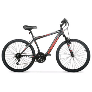 """Hyper 26"""" mountain bike with storage bag and lock"""