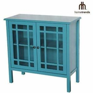 NEW* HOMETRENDS ACCENT CABINET CONSOLE CABINET - ACCENT CABINET DECOR HOME FURNITURE STORAGE DECORATIVE 92448241