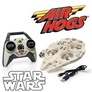 NEW AIR HOGS STAR WARS RC QUAD - 110557240 - REMOTE CONTROL ULTIMATE MILLENNIUM FALCON