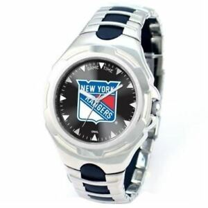 NEW NEW YORK RANGERS GAMETIME VICTOR WATCH