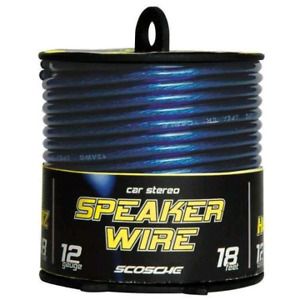 12 Gauge Wire  Car Speaker