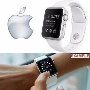 REFURB APPLE WATCH SPORT 38MM   38MM SILVER - ALUMINUM CASE W/ WHITE SPORTS BAND - 1ST GENERATION ELECTRONICS 98185327