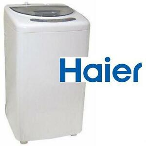 NEW HAIER PORTABLE WASHER 1 CU.FT. TOP LOAD PORTABLE WASHER IN WHITE - WASHING MACHINE  82556569
