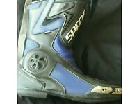 Motorcycle boots size 12