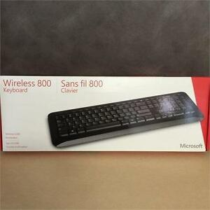 NEW, Microsoft 2VJ-00003 Wireless 800 Keyboard QWERTY Layout
