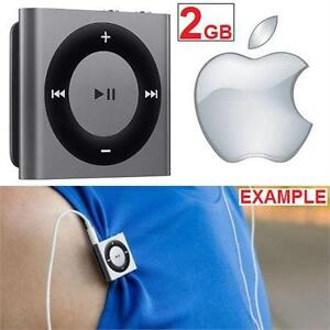 REFURB APPLE IPHOD SHUFFLE 2GB SPACE GREY - PORTABLE MUSIC PLAYER  81346313