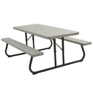 6' Collapsible Lifetime Picnic Table