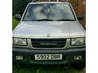 Vauxhall 4x4 spares or repair good tyres