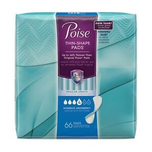 NEW POISE ~ Thin-Shape Pads