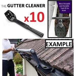 10 NEW GUTTER CLEANER TOOLS 184705985 THE GUTTER CLEANER ROOF VALLEY SHRUBS TREES CARPORTS