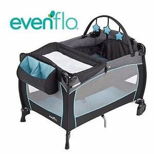 NEW EVENFLO BABYSUITE PLAYARD   Evenflo Babysuite Playard - Koi BABY GEAR  PLAYPEN SAFETY  99784505