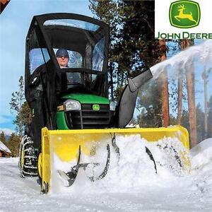"NEW JD 44"" SNOW BLOWER ATTACHMENT 44 INCH JOHN DEERE SNOW BLOWER ATTACHMENT FOR 100 SERIES TRACTORS WINTER SNOW 83965870"