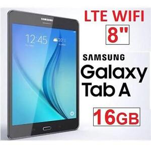 "NEW OB SAMSUNG GALAXY TAB A 16GB 8"" WIFI LTE 16GB ANDROID TABLET - TITANIUM GREY - NEW OPEN BOX PRODUCT 101737309"