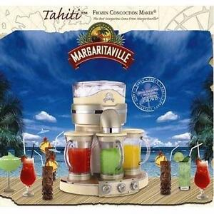 NEW TAHITI FROZEN DRINK MAKER   Margaritaville Tahiti Frozen Concoction Maker HOME APPLIANCE MIXERS ATTACHMENT 97489767