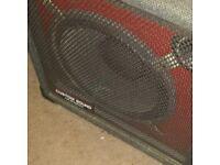 Custom sound 60 watt keyboard amp