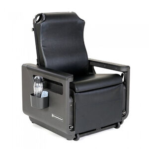 ChairMaster Seated Recumbent Chair, Black CSCMBLACK