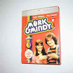 DVD Séries Mork&Mindy/ Lost in Space, Fame, MacGyver,UFO 22$+