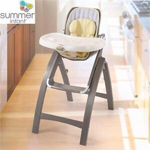 NEW SUMMER BABY BENTWOOD HIGH CHAIR   INFANT - NEWBORN - Baby Nursery Nursery Furniture  Tables & Chairs 91039319