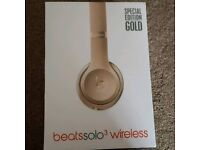 Beats by Dr Dre solo3 gold