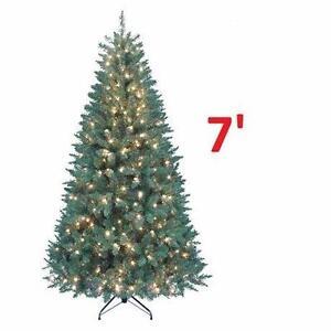 NEW KURT ALDER 7' CHRISTMAS TREE 7' Pre-Lit Pine Christmas Tree DECORATIONS SEASONAL HOLIDAYS XMAS 82896698