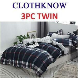 NEW 3PC DUVET COVER SET TWIN 243269535 CLOTHKNOW BEDROOM BEDDING CHILD CHILDREN BOYS