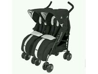 Maclaren Twin Techno buggy (black)
