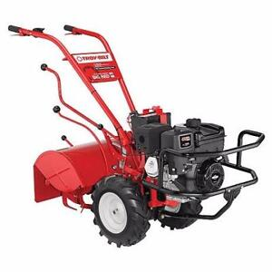 2017 Troy-bilt Horse BIG RED Tiller - Used Twice - OFF SEASON CLEARANCE $2499.00 - SAVE $800.00 !!