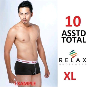 10 RELAX BOXER MEN'S XL/XXL EGYPTIAN COTTON UNDERWEAR