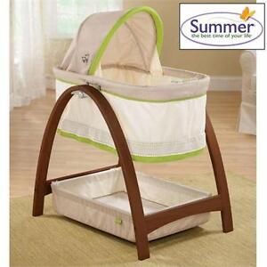 NEW SUMMER BASSINET W/ MOTION BENTWOOD Baby Products › Nursery › Beds, Cribs infant