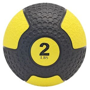 Northern Lights Deluxe Rubber Med Ball, 2 lb MBNLDRLB02