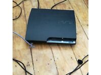 PS3 Slim 120GB with controller