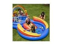 Intex Rainbow Ring Play Centre Inflatable Paddling Pool