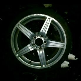 "Mercedes Benz E63 C63 AMG 18"" 5 Spoke alloy wheels set"