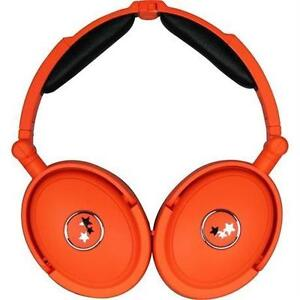 Able Planet NC180ORM MUSICIANS CHOICE NEON Around the Ear Active Noise Canceling