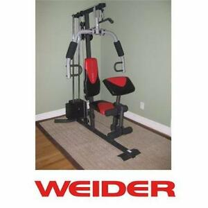 NEW* WEIDER 2980 X HOME GYM SYSTEM WEIGHT WEIGHTS GYMS EXERCISE FITNESS EQUIPMENT BENCH BENCHES RECREATION 99143218