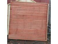 6x6 Waneylap fence panels. Also make any size u need