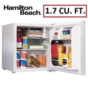 NEW* HB 1.7 CU. FT. COMPACT FRIDGE WHITE - FRIDGE - HAMILTON BEACH 104892354
