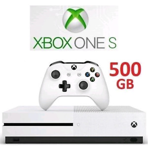 REFURBISHED XBOX ONE S 500GB WITH ONE CONTROLLER
