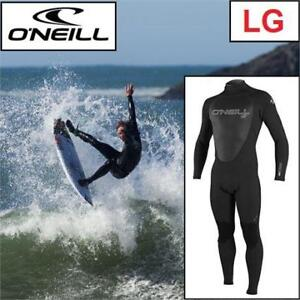 NEW O'NEILL WETSUIT MEN'S LG 4212-A05 188708028 EPIC 4/3 FULL WETSUIT