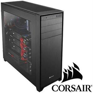 NEW* CORSAIR 750D FULL TOWER CASE PC COMPUTER CASE - OBSIDIAN SERIES - ELECTRONICS