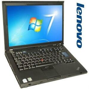 LENOVO THINKPAD T61 NOTEBOOK COMPUTER - USED