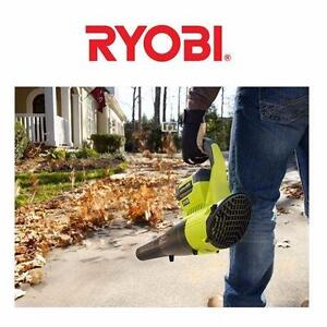 USED RYOBI HIGH PERFORMANCE BLOWER   40V LITHION ION BATTERY 8.85 LBS 300 CFM 150 MPH OF POWER LEAF BLOWER  85182054