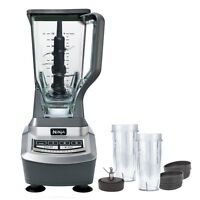Ninja Professional Blender with single serve blade and cups - Ne