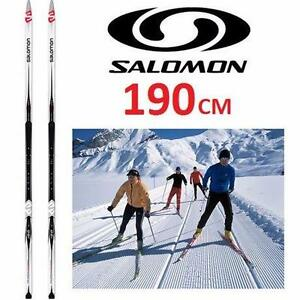 NEW SALOMON CROSS-COUNTRY SKIS   5 Escape siam Grip Ski -190CM SKI SKIING SNOWSPORT SNOW GEAR SPORTS 98247050