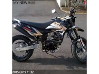 SINNIS APACHE 125 for sale £1000 OVNO