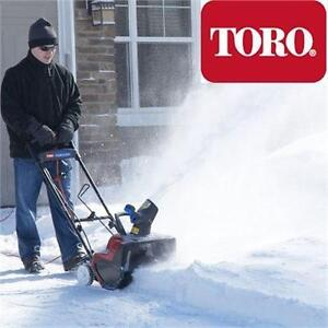 "NEW TORO ELECTRIC SNOWBLOWER 18"" POWER CURVE SNOW BLOWER SNOW THROWER 80395240"