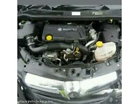 Vauxhall astra h corsa d 1.7 cdti z17dtr ecoflex engine done 76k