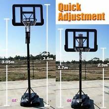 NEW PORTABLE SPRING LOADED BASKETBALL SYSTEM STAND NET RING Bayswater Knox Area Preview