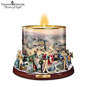 "Thomas Kinkade ""It's Christmas Time"" Candle Holder Centerpiece Belleville Belleville Area image 3"